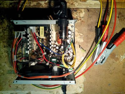 БП от ПК АТХ, зарядное устройство для АКБ